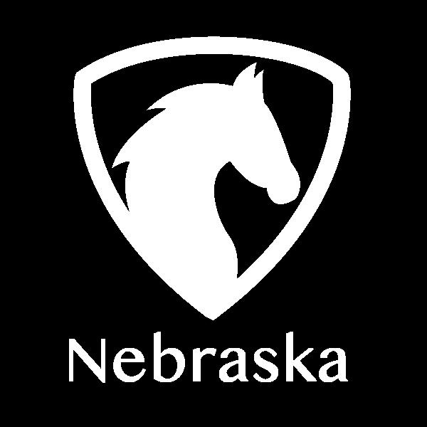 Nebraska Horse State Label
