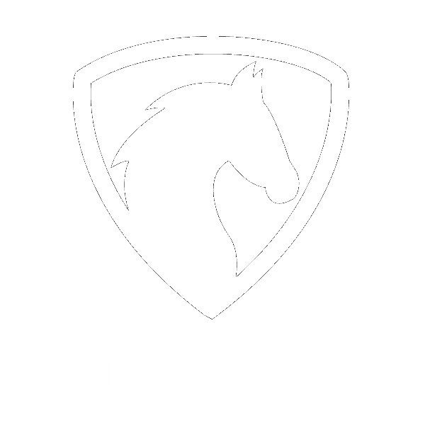 North Dakota Horse State Label