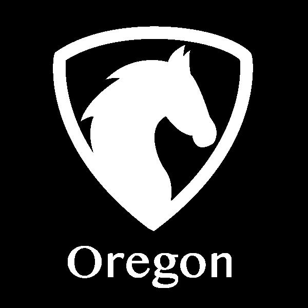 Oregon Horse State Label
