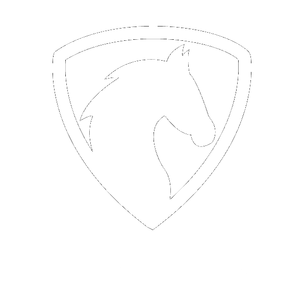 Wyoming Horse State Label