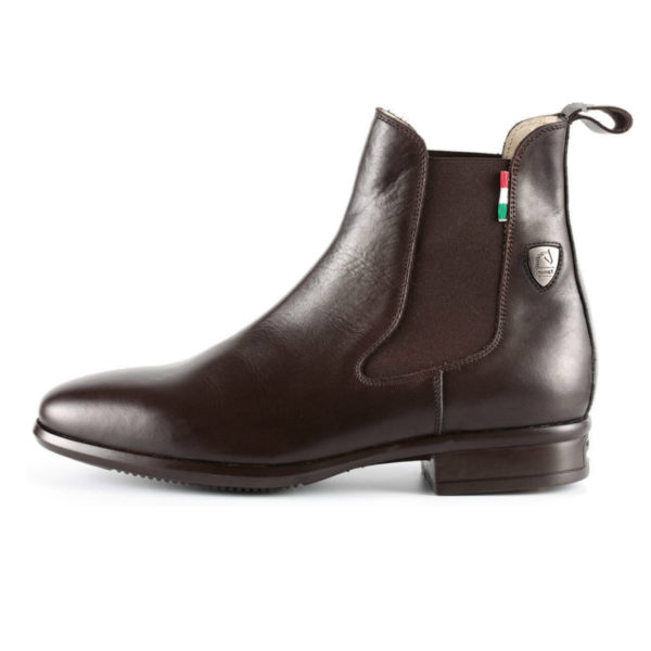 Tattini Boots - Half Boot - Brown Alano - Italian English Riding Boots - Paddock Boots