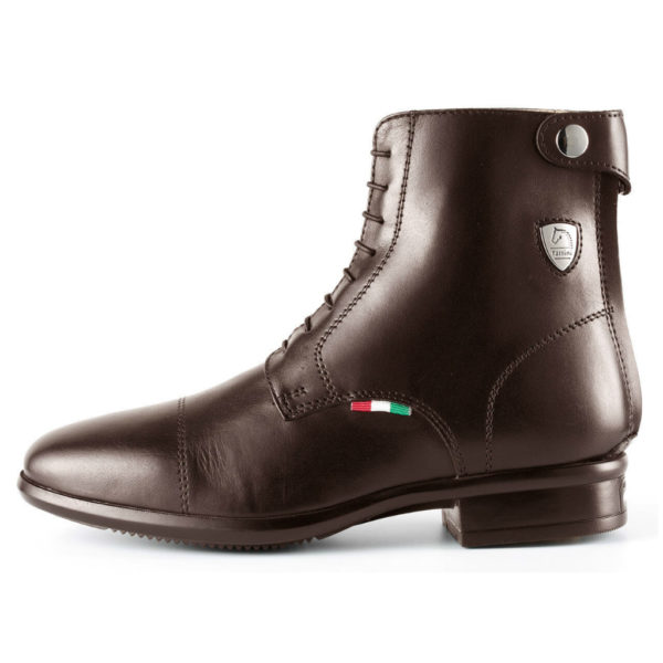 Tattini Boots - Half Boot - Brown Beagle - Italian English Riding Boots - Paddock Boots