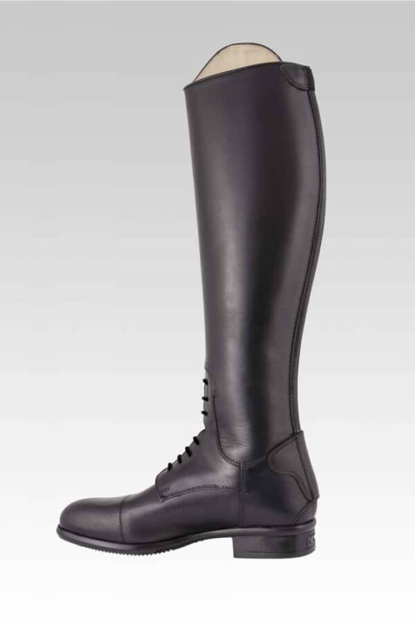 Tattini Equestrian Riding Boots - Tall Boots - Boxer Smooth Leather Side with Laces