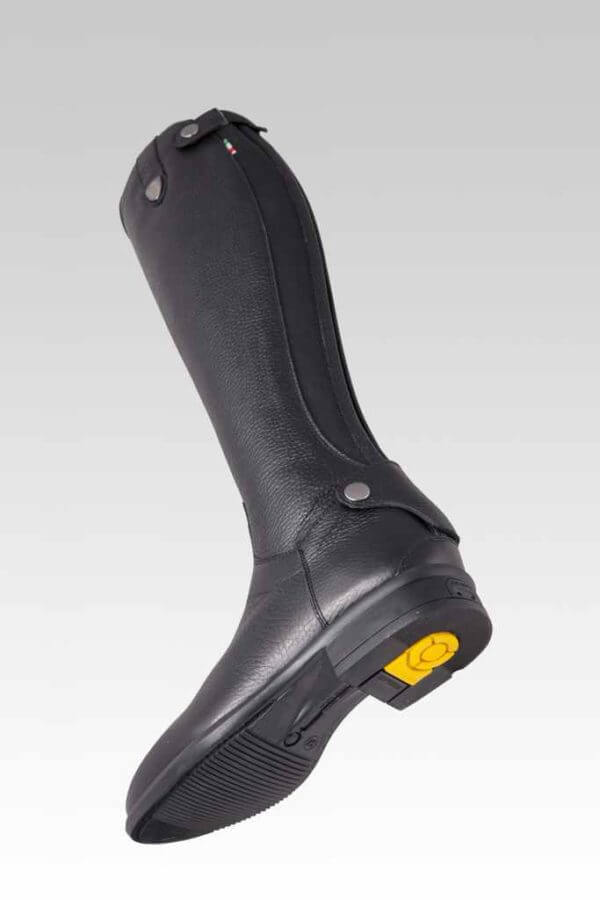 Tattini Boots- Equestrian Italian English Riding Boots - Tall Boots Grained Leather - Bracco Under Foot - Dressage and Field Boots