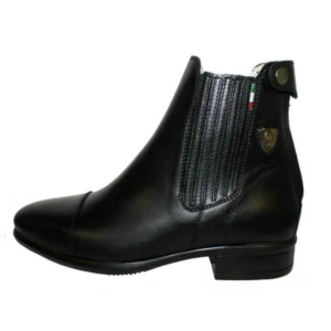 Tattini Boots - Collie Left Side - Half Boots - Premium Italian English Dressage Boots