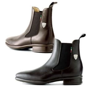 Tattini Equestrian Boots - Half Boot - Black and Brown Alano