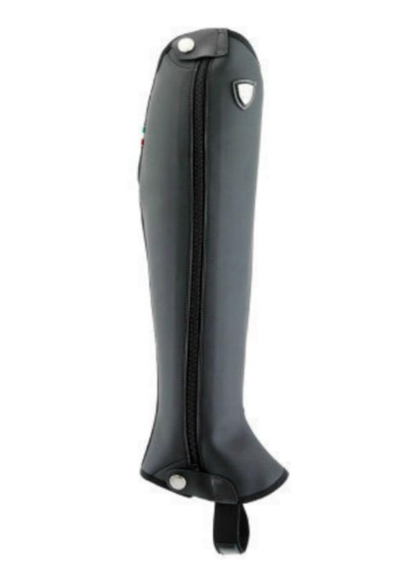 Tattini Italian Riding Boots - Bi Stretch Half Chaps - Black Option