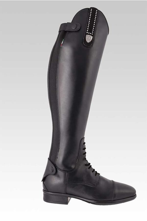 Tattini Boots - Tall Boots - Retriever with Interchangeable Straps - Outside View - Italian English Riding Boots