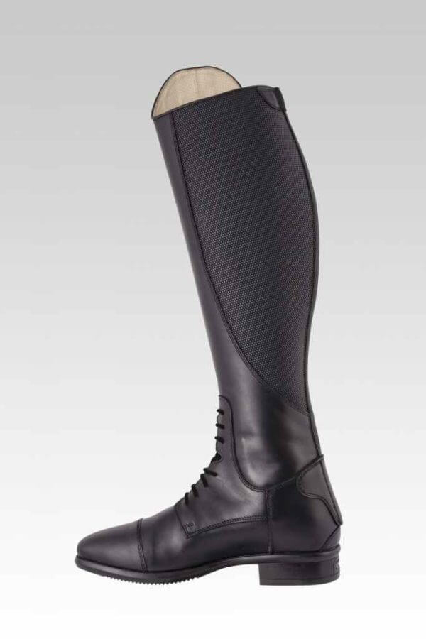 Tattini Boots - Tall Boots - Retriever with Interchangeable Straps - Inside View - Italian English Riding Boots