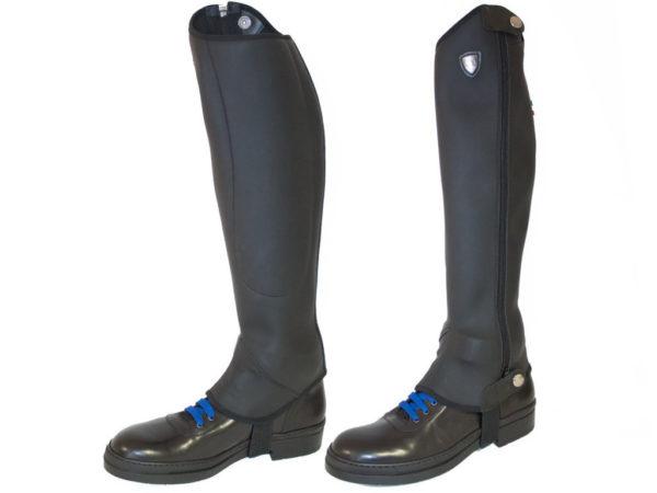 Tattini Italian Riding Boots - Bi Stretch Half Chaps