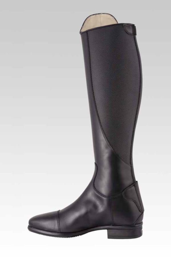 Tattini Boots - Tall Boots - Terranova with Interchangeable Straps - Inside View - Italian English Riding Boots