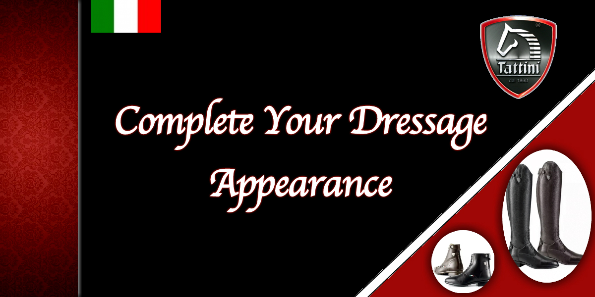 Complete your Dressage Appearance Italian English Riding Boots