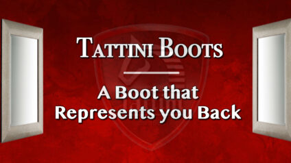 An English Riding Boot that Represents you Back