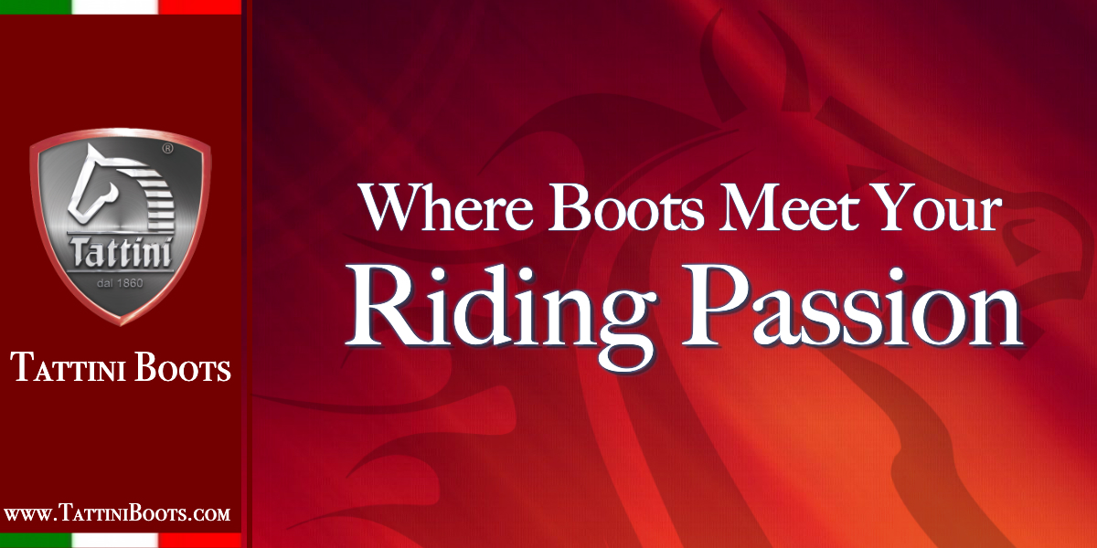Tattini Boots - Where English Boots meet your English Riding Passion Graphic