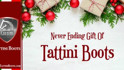 Never Ending Gift of Tattini Boots Italian English Riding Boots