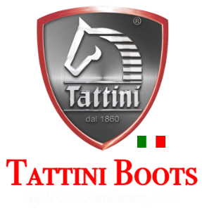 Tattini Boots Footer Logo - Italian Made English Riding Boots