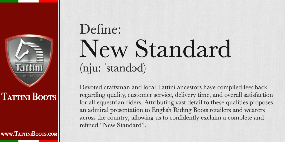 Define New Standard in Italian English Riding Boots Tattini Boots Blog