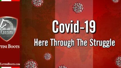 Covid 19 - Here Through The Struggle: Tattini Boots - Italian English Riding Boots