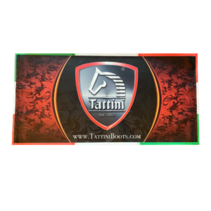 Tattini Boots - Waterproof Vinyl Banner - Quality Italian English Riding Boots