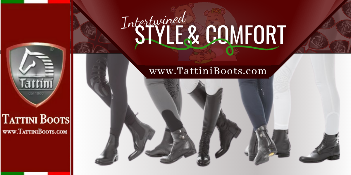 Tattini Boots - Blog - Intertwined Style and Comfort - Italian English Riding Boots