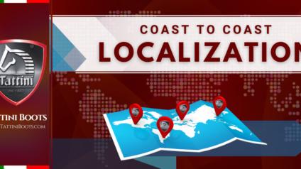 Tattini Boots - Blog - Coast-to-Coast Localization - Tall Boots - Paddock Boots - Half Boots