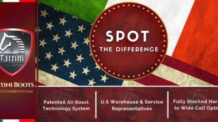 Tattini Boots: Blog - Spot The Difference - Italian English Riding Boots - Field Boots - Dressage Boots
