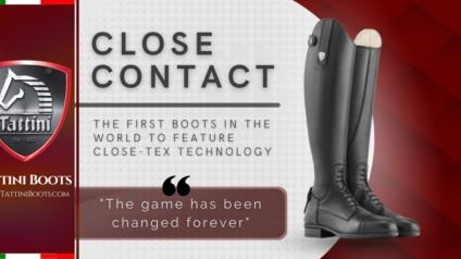 Tattini Boots - Close Tex Technology Leather - Italian English Riding Boots