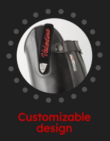 Customizable Design - Powered by Tattini - Italian English Riding Boots
