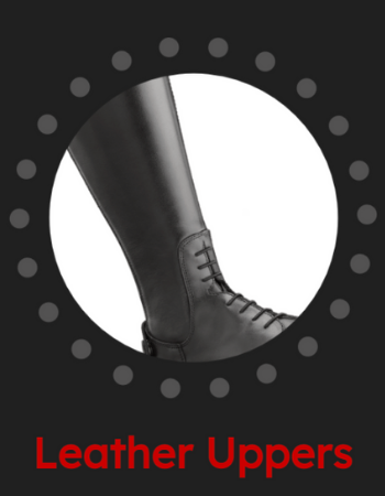 Leather Uppers - Powered by Tattini - Italian English Riding Boots