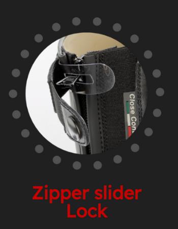 Zipper Slider Lock - Powered by Tattini - Italian English Riding Boots